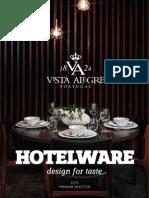 Vista Alegre Hotelware Premium Catalogue 2015