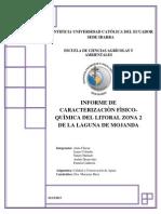 Informe Calidad Laguna Mojanda