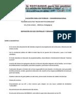 Nueva Institucionalidad Síntesis Congreso Nacional