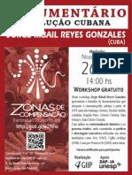 Cartaz Workshop Documentario e revolução