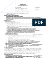 1 page resume copy