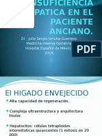 Insuficiencia Hepatica en El Paciente Anciano