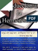 Hermeneutica - Clase 01