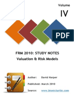 FRM-I Study Notes Valuation-Models.pdf