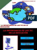 La Importancia de Las Tic en La Educación y Nuevos Retos