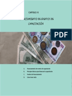 Financiamiento de Eventos de Capacitacion