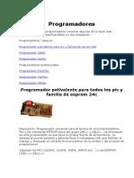 Programadores EEPROM