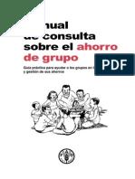 Movilización y Gestión de Ahorro Grupal FAO