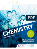 A Level Chemistry Edexcel Sample