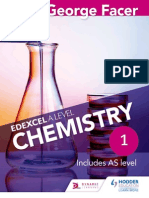 A Level Chemistry Edexcel FACER Sample