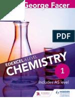 organic chemistry problem solver a level chemistry edexcel facer sample