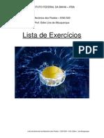 ENG520 Lista Exercícios Rev1 Mecânica dos Fluidos