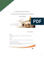 Mejoramiento de Procesos Gerencia División Operaciones y Sistemas