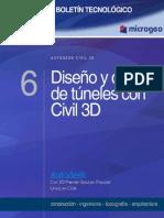 Boletin n.6 Diseno y Control de Tuneles Con Civil 3d