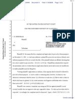 Bressman v. IRS - Document No. 4