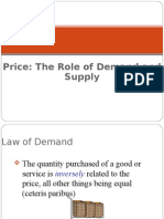 Supply Demand Theory