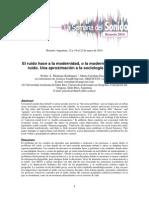 Sociologia Del Ruido - Montano