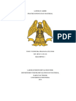 Laporan Akhir Pengujian Material pdf