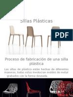 Sillas de Plastico