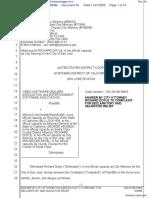 Video Software Dealers Association et al v. Schwarzenegger et al - Document No. 40