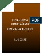 Metalurgia Extractiva de Minerales SUlfurados de Cobre