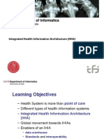 Integrated Health Information Architecture
