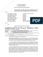 Municipal Ordinance No. 02-2008