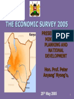 Economic Survey 2005