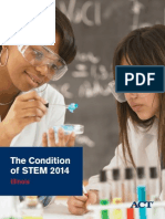 The Condition of STEM 2014 Illinois