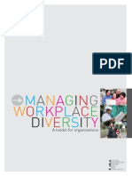 Workplace Diversity Management Tookit and Manager's Guide