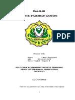 MAKALAH MATERI PRAKTIKUM ANATOMI - NOVIA ANGGRAENI.P17424312078.POLTEKKES SMG DIII KEBIDANAN PWT.doc