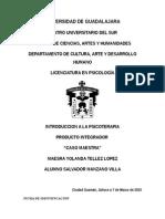 """Plan de Intervención, Caso ficticio """"Maestra"""""""