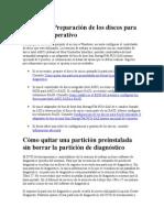 Capítulo 4 Preparación de Los Discos Para El Sistema Operativo