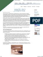 Modeling Jet Fans Using FDS - Part 1