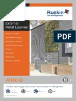 External Metal Louvres