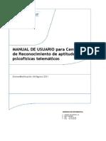 manual para centros de reconocimiento de conductores de aptitudes psicofisicas