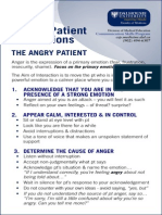 Card Angry Patient