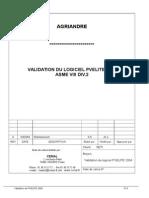 Validation PVELITE Div2