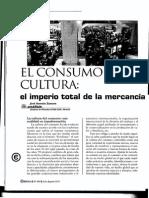 El Consumo Como Cultura El Imperio Total de La Mercancia