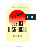 Justice Disgraced By
