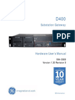 D400 Substation Gateway HW Manual V130 R9