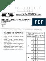[spmsoalan]Soalan SPM 2014 Matematik Kertas 2