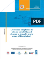 Livelihood Adaptation to Climate Variability & Change in Drought Prone Areas of Bangladesh