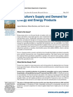 Eib112summary Agriculture's Supply and Demand for Energy and Energy Products