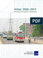 Country Assistance Program Evaluation for Pakistan