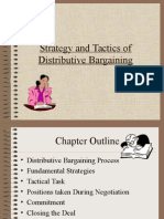 Strategy and Tactics of Distributive Bargaining1