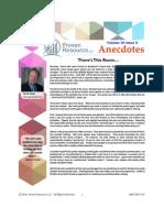 Proven Resource Anecdotes April May 2015