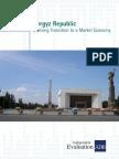 Country Assistance Program Evaluation for Kyrgyz Republic