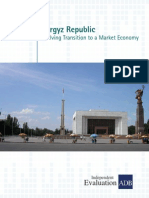 Country Assistance Program Evaluation for Kyrgyz Republic
