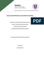 Mini Research (Kecelaruan Personaliti Di Kalangan Pesakit Hospital)